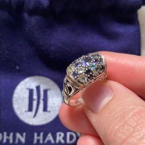 John Hardy Sterling Silver 18k Gold Lavafire Ring